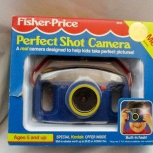 NEW Vintage Stock Fisher Price Perfect Shot 35mm C